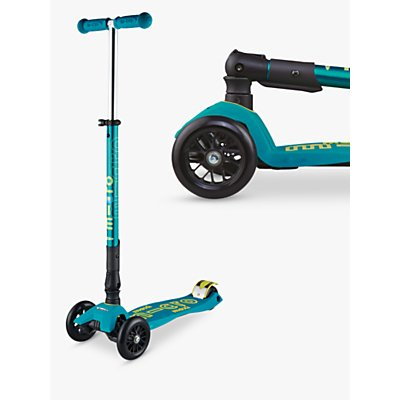 Maxi Micro Deluxe Foldable Scooter, 5-12 years, Petrol