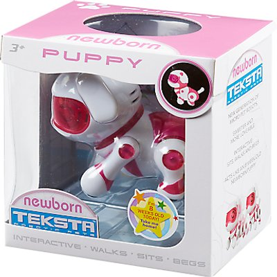 Teksta Robotic Pets Newborn Puppy
