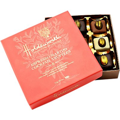 Holdsworth Espresso Martini Selection Chocolates, 115g