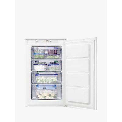 Zanussi ZBF11421SV Freestanding Freezer  A  Energy Rating  54cm Wide  White - 7332543616565