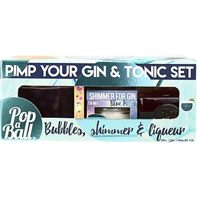 Popaball Pimp Your Gin & Tonic Party Pack, 3 x 125g