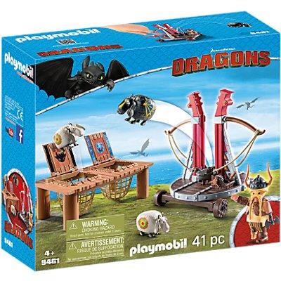 Playmobil Dragons Sheep Launcher Play Set