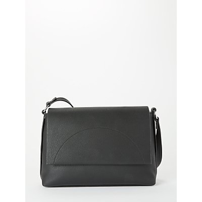Kin Sia Foldover Shoulder Bag, Black