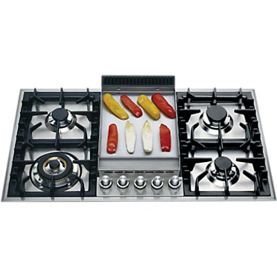 ILVE HP95FC I 90cm Gas Hob  Stainless Steel - 5060432370619