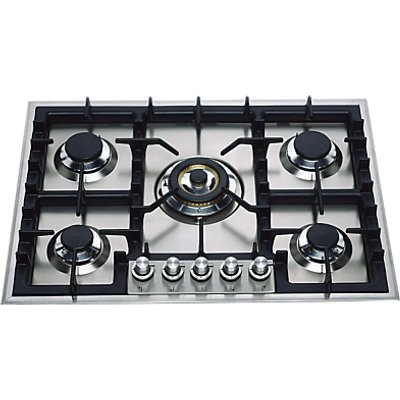 ILVE HP75C I 70cm Gas Hob  Stainless Steel - 5060493431717
