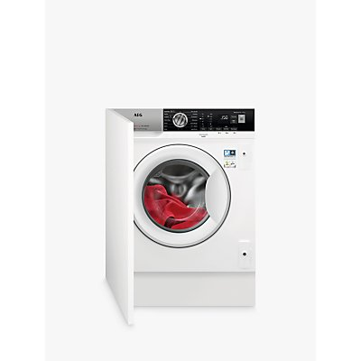 AEG ProSteam Technology L7FE7461BI Integrated Washing Machine, 7kg Load, A+++ Energy Rating, 1400 RPM, White