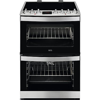 AEG CIB6731ACM Electric Cooker  A Energy Rating  Stainless Steel - 7332543596317