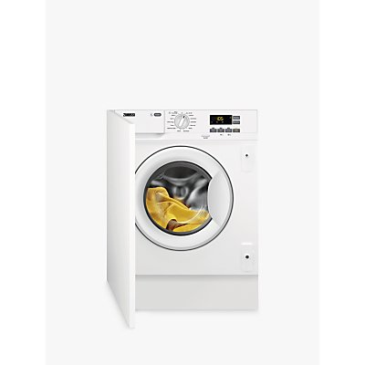 Zanussi Z712W43BI Integrated Washing Machine, 7kg Load, A+++ Energy Rating, White