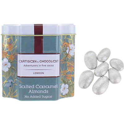 Artisan du Chocolat Caramel Milk Chocolate Almonds, 125g