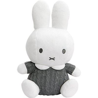 Miffy Knitted Cuddle Bunny Soft Toy