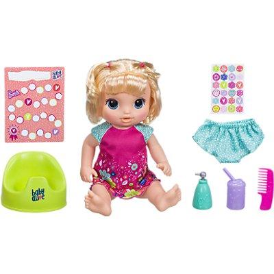 Hasbro Baby Alive Potty Dance Blonde Baby