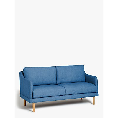 House by John Lewis Sweep Small 2 Seater Sofa, Light Leg