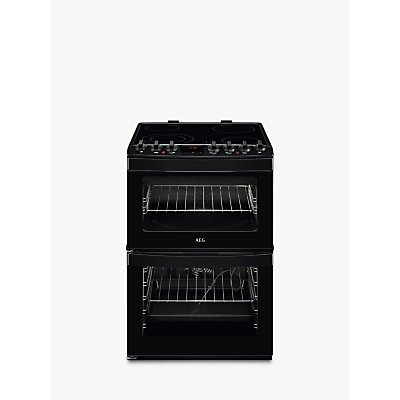 AEG CCB6761ACB Freestanding Electric Cooker  A Energy Rating  60cm Wide  Black - 7332543596287