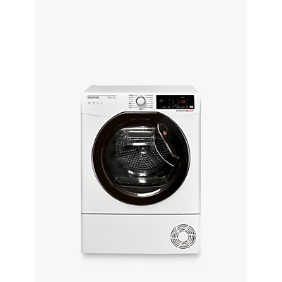 Hoover DXW H10A2TKE-80 Heatpump Tumble Dryer, 10kg Load, A++ Energy Rating, White