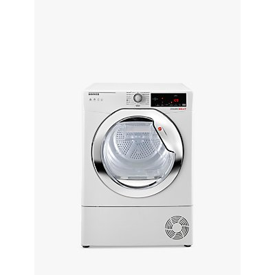 Hoover DXWH11A2DCEXM-80 Freestanding Heat Pump Tumble Dryer, A++ Energy Rating, White