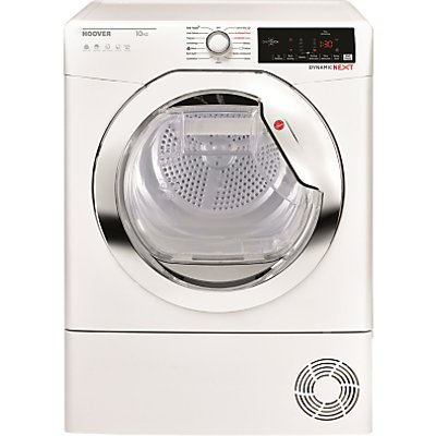 Hoover DX HY10A1TCE-80 Heatpump Tumbler Dryer, 10kg, A++ Energy Rating, White