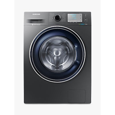 "Samsung WW90J5456FC ecobubbleâ""¢ Freestanding Washing Machine, 9kg Load, A+++ Energy Rating, 1400rpm Spin, Grey"