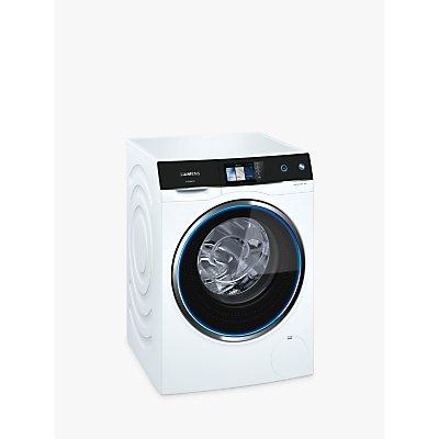 Siemens WM14U940GB Freestanding Washing Machine, 10kg Load, A+++ Energy Rating, 1400rpm Spin, White