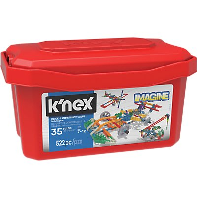 K'Nex 18025 Click and Construct Value Building Set