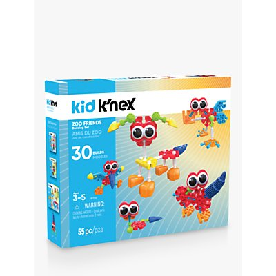 K'Nex 85700 Kid K'nex Zoo Friends Building Set