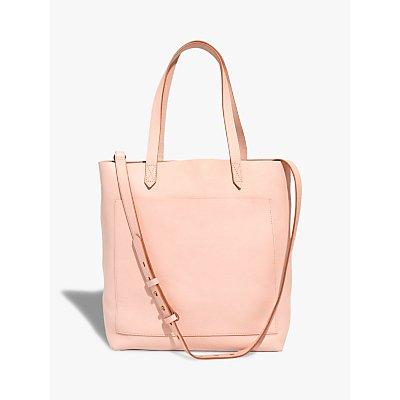 Madewell Leather Medium Transport Tote Bag