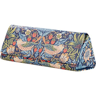 Morris & Co. Strawberry Thief Glasses Case