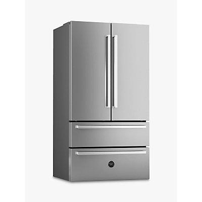 Bertazzoni REF90X Freestanding French Door Fridge Freezer, A+ Energy Rating, 91cm Wide, Stainless St