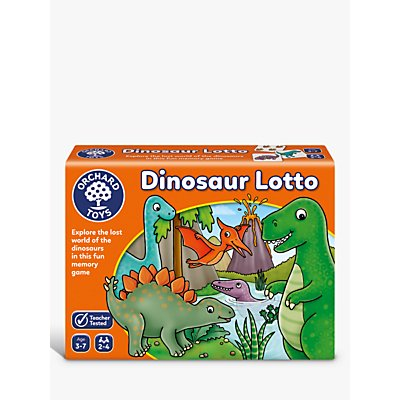 Orchard Toys Dinosaur Lotto Match and Memory Game