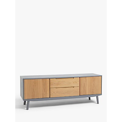 House by John Lewis Bow TV Stand Sideboard for TVs up to 70