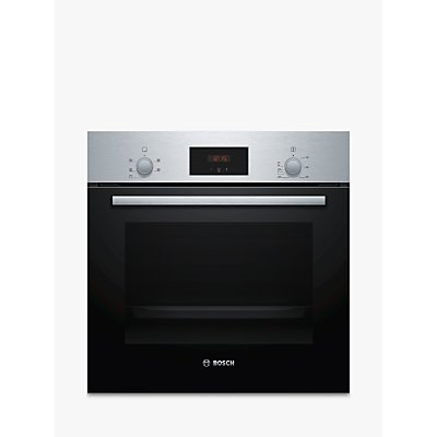 Bosch Serie 2 HHF113BR0B Built-In Electric Single Oven, Stainless Steel