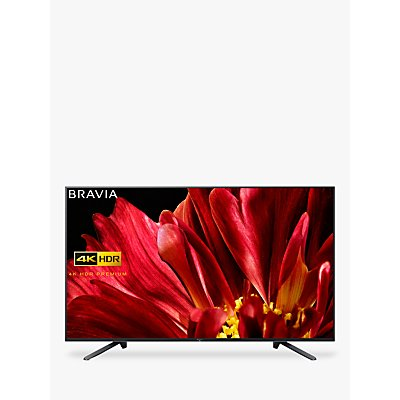 Sony Bravia KD65ZF9 LED HDR 4K Ultra HD Smart Android TV, 65 with Freeview HD & Youview, Black