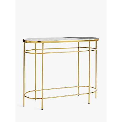 John Lewis & Partners + Swoon Sartre Marble Console Table