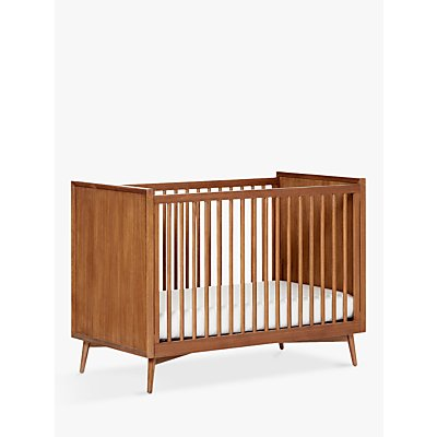 Pottery Barn Kids Mid Century Convertible Cotbed, Acorn