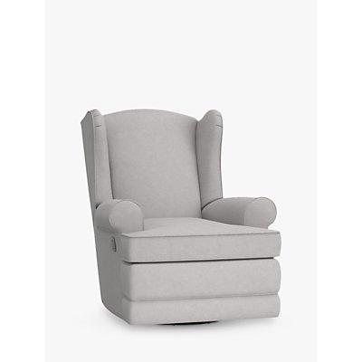 Pottery Barn Kids Wingback Reclining Nursing Chair, Light Grey