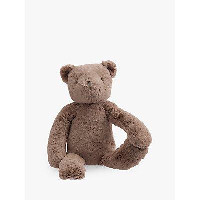 Pottery Barn Kids Plush Teddy Bear Soft Toy, Medium, Brown