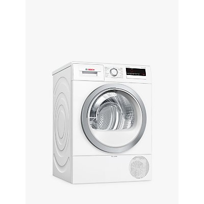 Bosch WTR85V21GB Heat Pump Tumble Dryer, 8kg, A++ Energy Rating