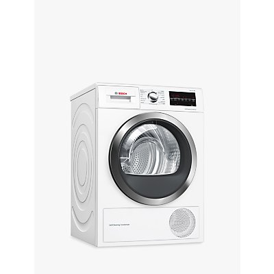 Bosch Serie 6 WTW85471GB Heat Pump Freestanding Tumble Dryer, 8kg Load, A++ Energy Rating, White