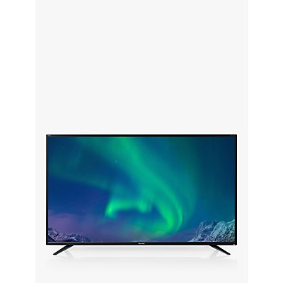Sharp LC-43UI7252K LED HDR 4K Ultra HD Smart TV, 43 with Freeview HD, Miracast & Harman/Kardon Sound, Black