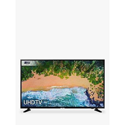 Samsung UE43NU7020 HDR 4K Ultra HD Smart TV, 43 with TVPlus & 360 Design, Ultra HD Certified, Black