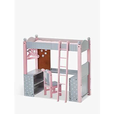 Olivia's Little World Bunk Bed and Study Desk