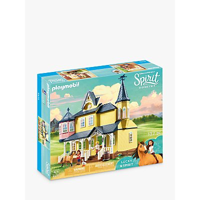 Playmobil Dreamworks Spirit Riding Free 9475 Lucky's Happy Home