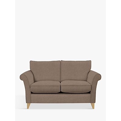 John Lewis & Partners Charlotte Small 2 Seater Sofa, Light Leg, Dylan Natural