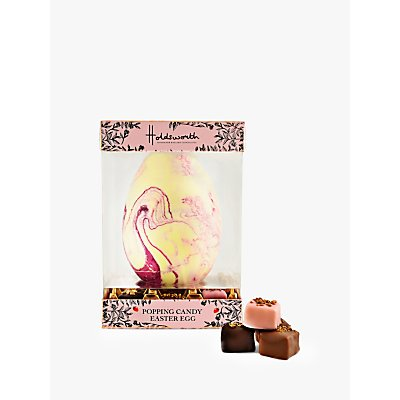 Holdsworth Strawberry Popping Candy Easter Egg, 300g