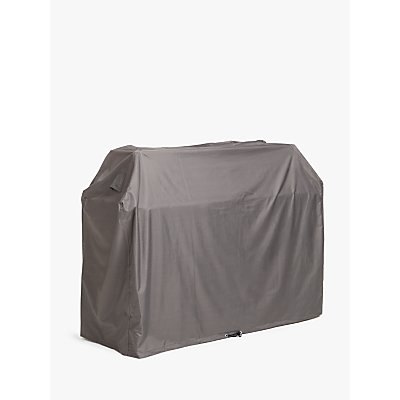 John Lewis & Partners 6 Burner BBQ Cover, Grey