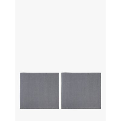 John Lewis & Partners GOTS Organic Linen Napkins, Set of 2