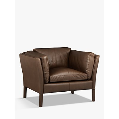 Halo Groucho Leather Armchair