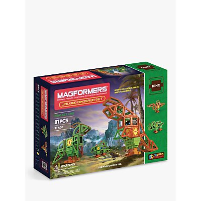 Magformers Dino Walking Dinosaur Set