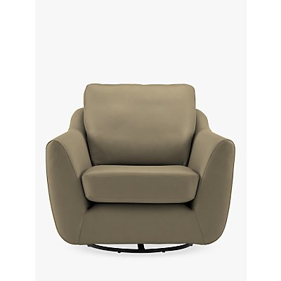 G Plan Vintage The Sixty Seven Leather Swivel Armchair