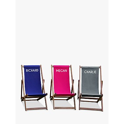 Jonny's Sister Personalised Deckchair