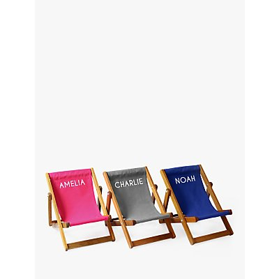 Jonny's Sister Personalised Mini Deckchair